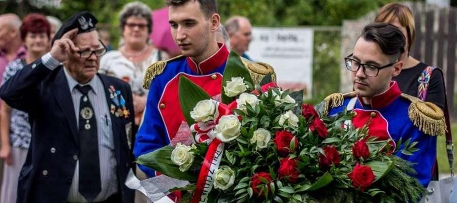 Obchody 103 rocznicy wymarszu I Kompani Kadrowej.