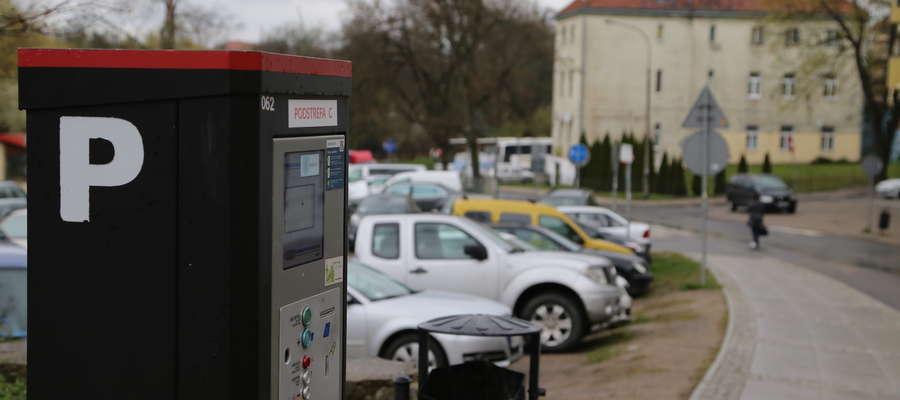 parkomat Nowowiejskiego Olsztyn