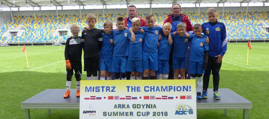 Chłopcy z Lubawskiej Akademii Piłkarskiej 2007, tak jak pozostali uczestnicy turnieju w Gdyni, mogą się czuć mistrzami