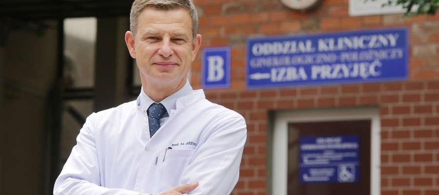 — Dziś Miejski Szpital Zespolony w Olsztynie dysponuje wyposażeniem umożliwiającym wykonywanie pełnego spektrum operacji minimalnie inwazyjnych — mówi prof. Marcin Jóźwik.