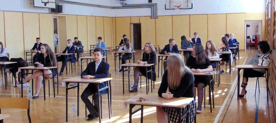 Matematykę najlepiej napisali absolwenci gimnazjów w gminie Nidzica