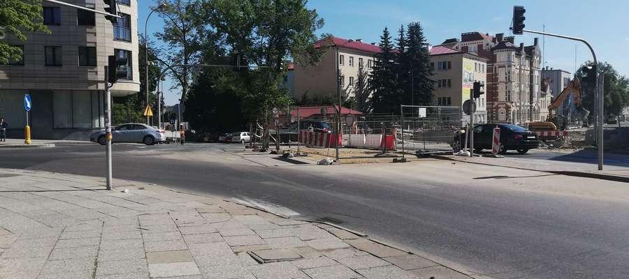 Skrzyżowanie ulic 1 Maja i Partyzantów
