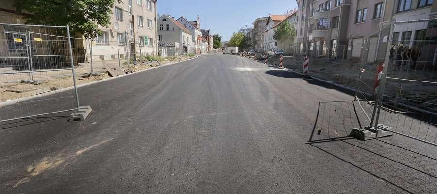Ulica Partyzantów w Olsztynie