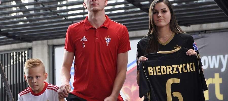 Wiktor Biedrzycki (tu podczas przedsezonowej prezentacji Górnika Zabrze) nie zagrał ani minuty przeciwko Mołdawianom