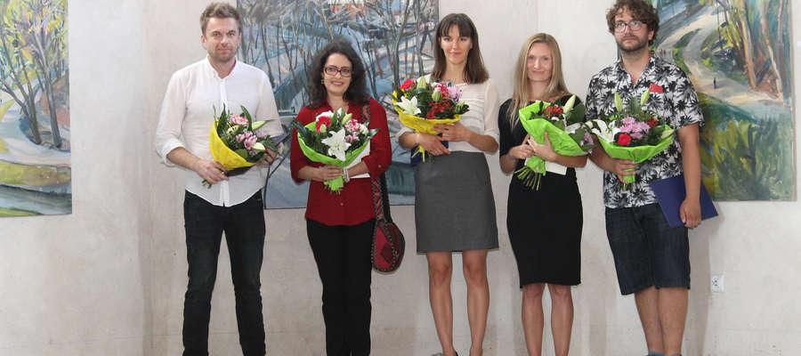 Od lewej: Tomasz Zjawiony, Joanna Bentkowska-Hlebowicz, Karolina Jabłońska, Anna Kunka-Kawełczyk, Łukasz Zedlewski.