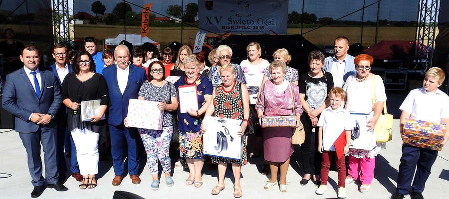 Nagrodzone KGW w konkursie kulinarnym na potrawę z gęsi