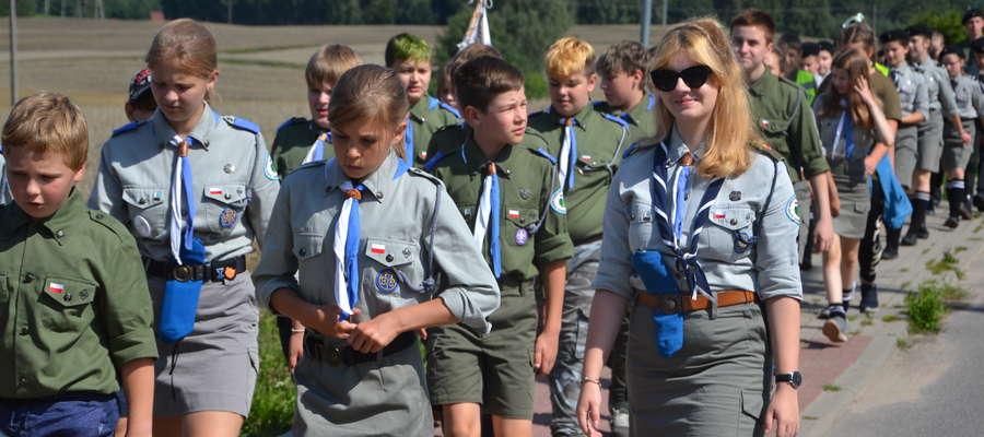 Harcerzy z Torunia można spotkać w Gaju i Łąkorzu