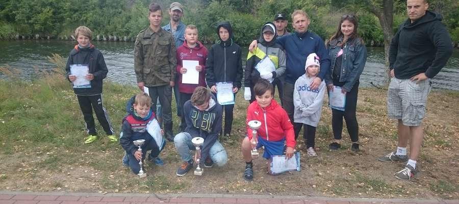 Zawody wędkarskie o o Puchar Gospodarstwa Rybackiego PZW