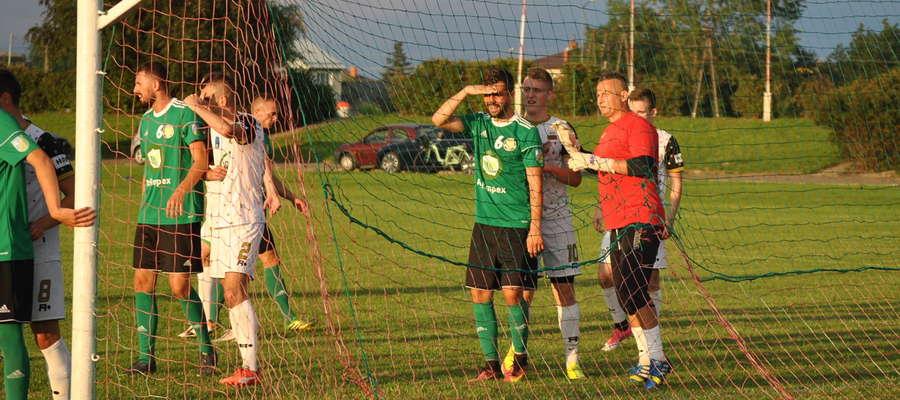 Podczas ostatniego sparingu GKS Wikielec przegrał z Wkrą Żuromin 0:1