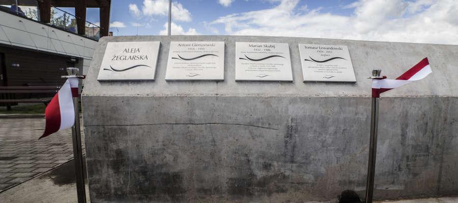 Aleję Żeglarską otwarto w pierwszym dniu pracy portu w lipcu 2015 roku