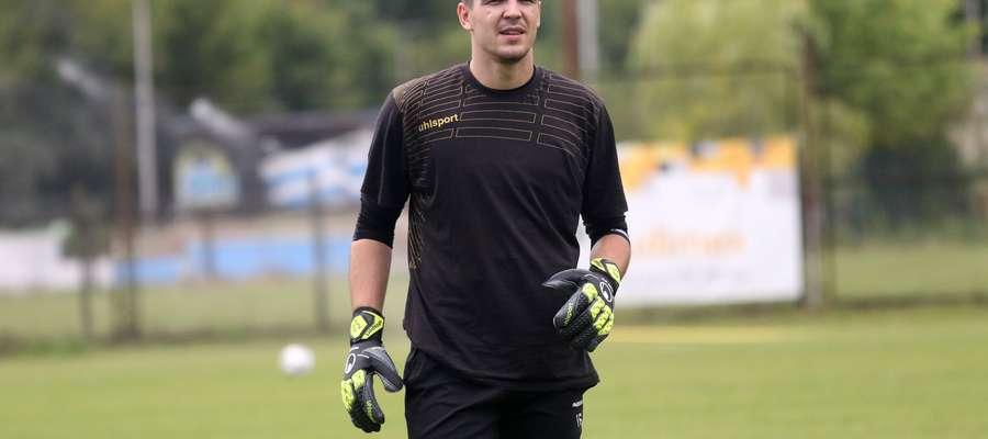 Na piątkowym treningu Stomilu pojawił się Filip Kurto, były bramkarz holenderskiej Rody Kerkrade