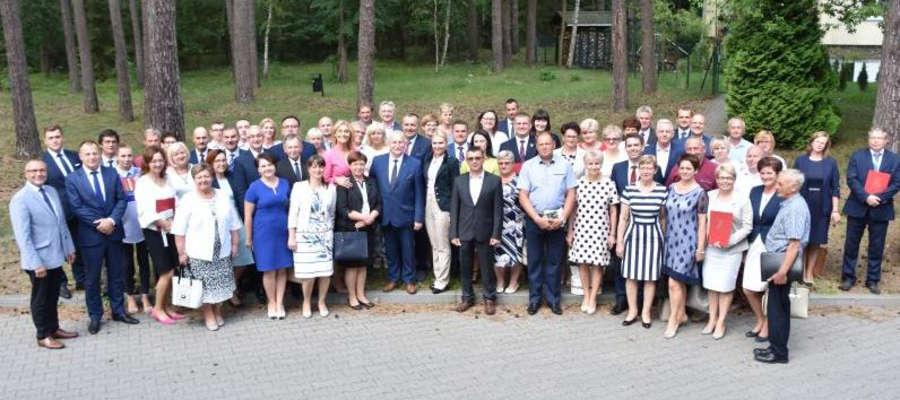 Wczoraj w Olsztynie odbyło się podpisanie umów z beneficjentami