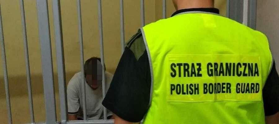 Poszukiwany przez Interpol mężczyzna został zatrzymany w Szczytnie
