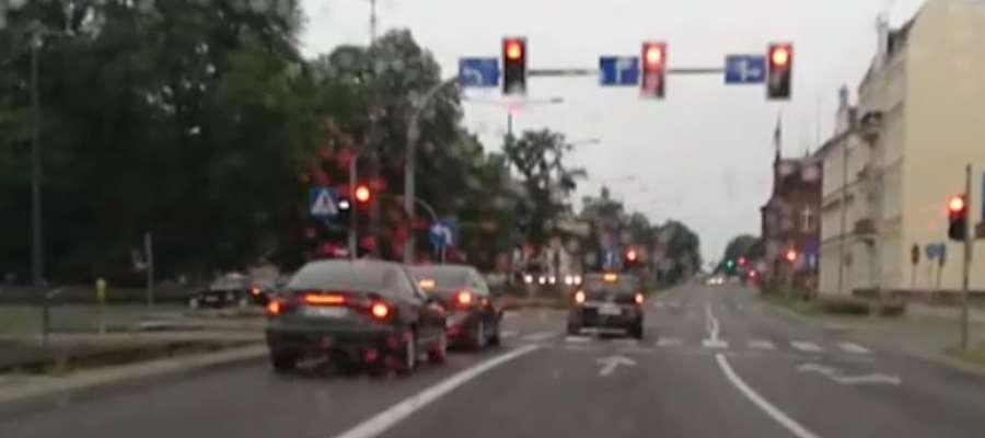 Sytuacja miała miejsce  5 czerwca tego roku około 7:50 przy ulicy Pocztowej w Elblągu
