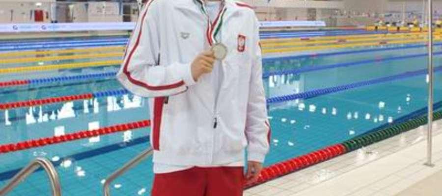 Bartłomiej Koziejko złoty i brązowy medalista OOM w Gliwicach