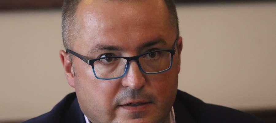 Maciej Radkiewicz, nowy prezes Stomilu Olsztyn