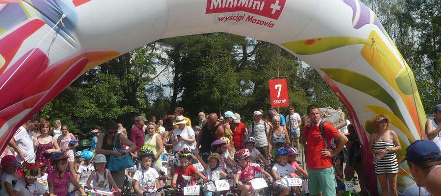 Emocje w wyścigach MiniMini rozkładały się po równo na ich uczestników i... rodziców.