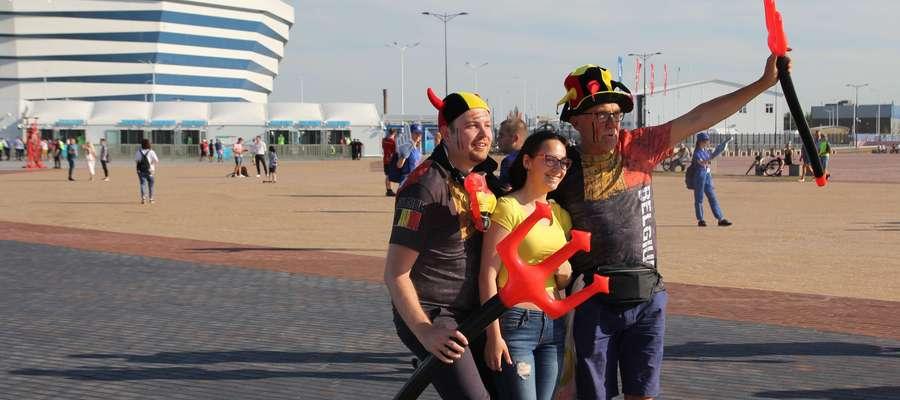 Belgowie od początku turnieju stanowią jedną z barwniejszych grup kibiców, którzy przyjechali na Mundial w Rosji