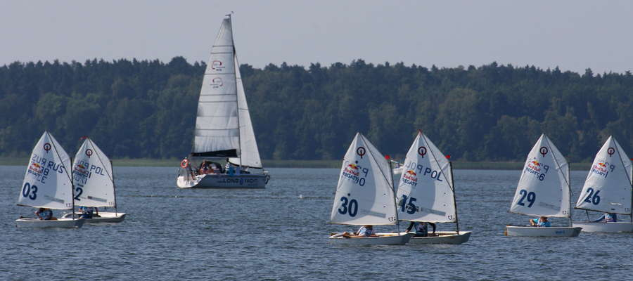 Regaty na jeziorze Niegocin