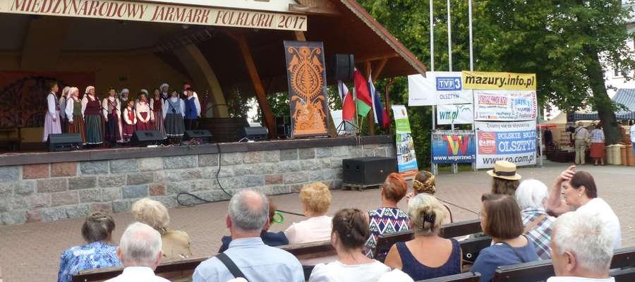 Międzynarodowy Jarmark Folkloru w Węgorzewie