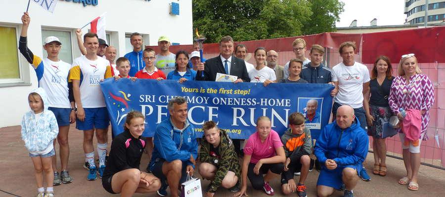 Bieg Peace Run w Elblągu