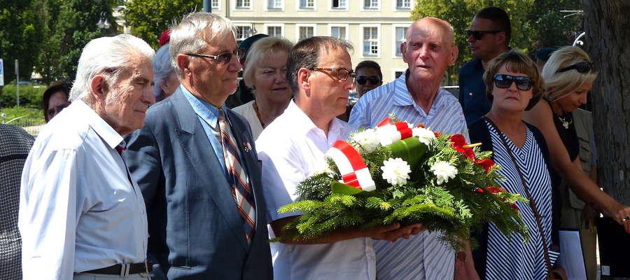 W uroczystościach wzięli udział m.in. ostatni świadkowie wydarzeń na Wołyniu