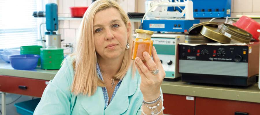 Dr inż. Beata Piłat z  z Katedry Chemii i Przetwórstwa Surowców Roślinnych z Wydziału Nauki o Żywności UWM