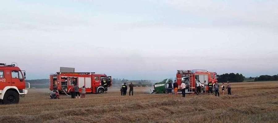 W tym roku strażacy interweniowali na polach już kilkukrotnie