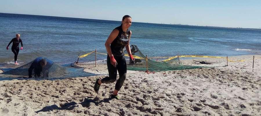 Joanna Kwiatkowska podczas runmageddonu w Gdyni