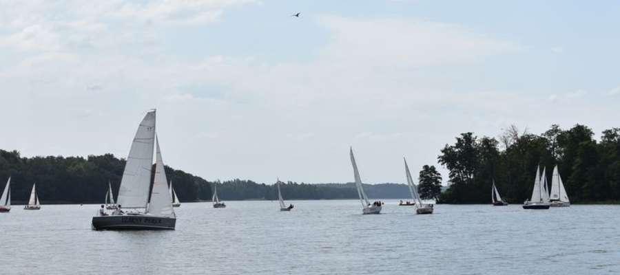 I Regaty o Puchar Wójta Gminy Małdyty i uroczyste otwarcie pomostów nad jeziorem Ruda Woda