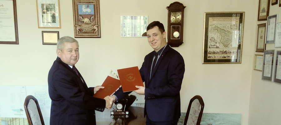 Zarząd Powiatowy Związku OSP zobowiązał się do pomocy w prowadzeniu naboru kandydatów na Kursy Kwalifikowanej Pierwszej Pomocy