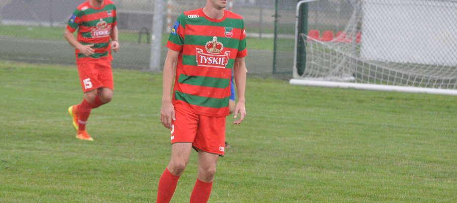 Wśród przymierzanych zawodników do gry we Wkrze jest Szymon Masiak fot. mo