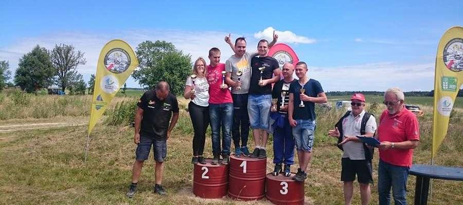 Piotr Szakal i Paweł Kobyliński okazali się najszybsi we Frączkach