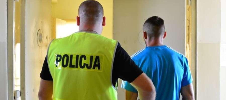 22-latek został zatrzymany przez policję