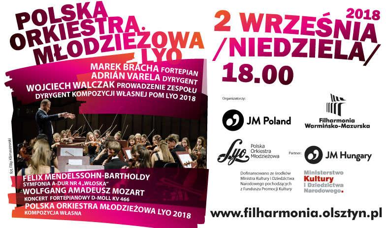 W Filharmonii wystąpi Polska Orkiestra Młodzieżowa LYO - full image