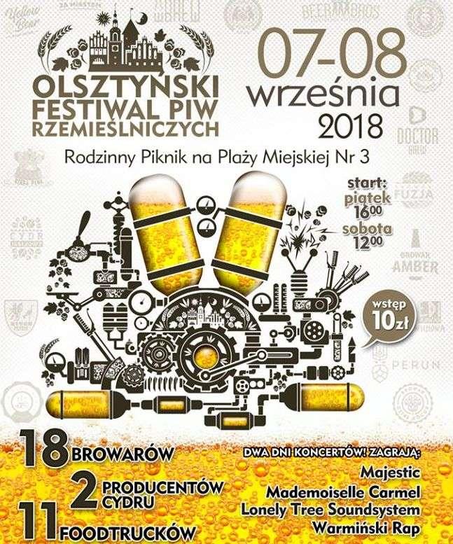 Olsztyński Festiwal Piw Rzemieślniczych - full image