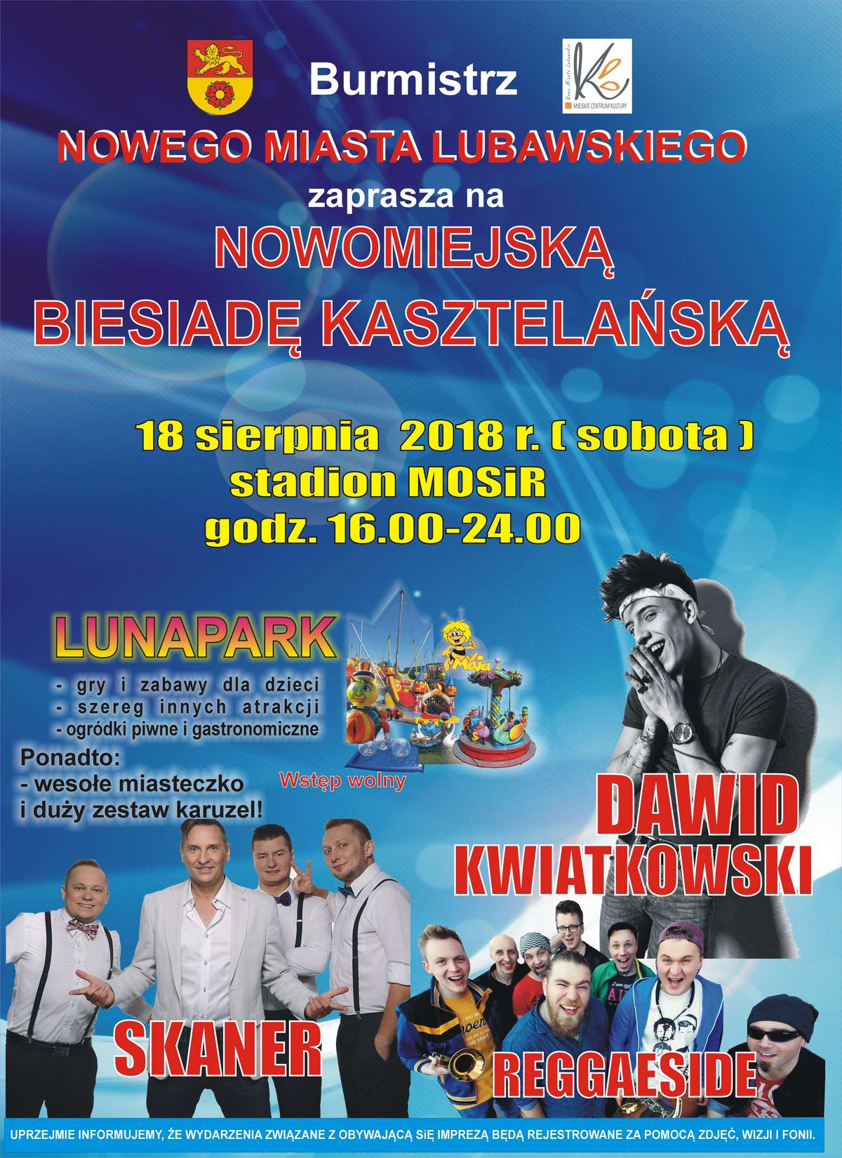 Plakat Biesiady Kasztelańskiej 2018