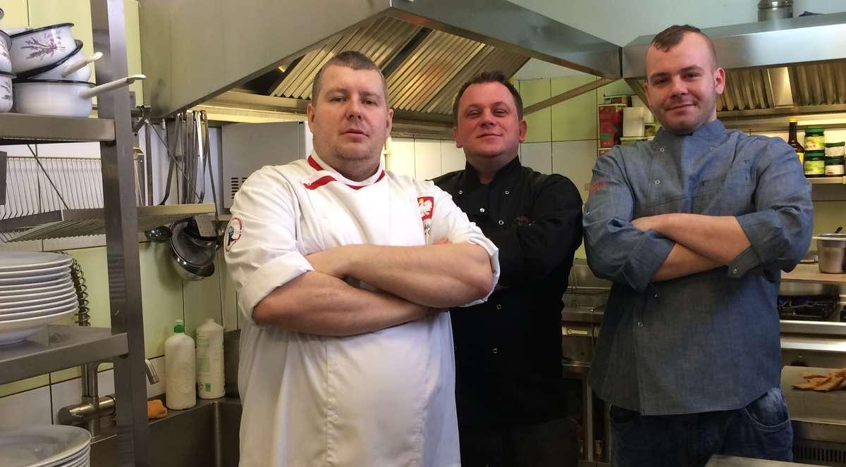 Członkowie Elbląskiego Klubu Szefów Kuchni  - full image