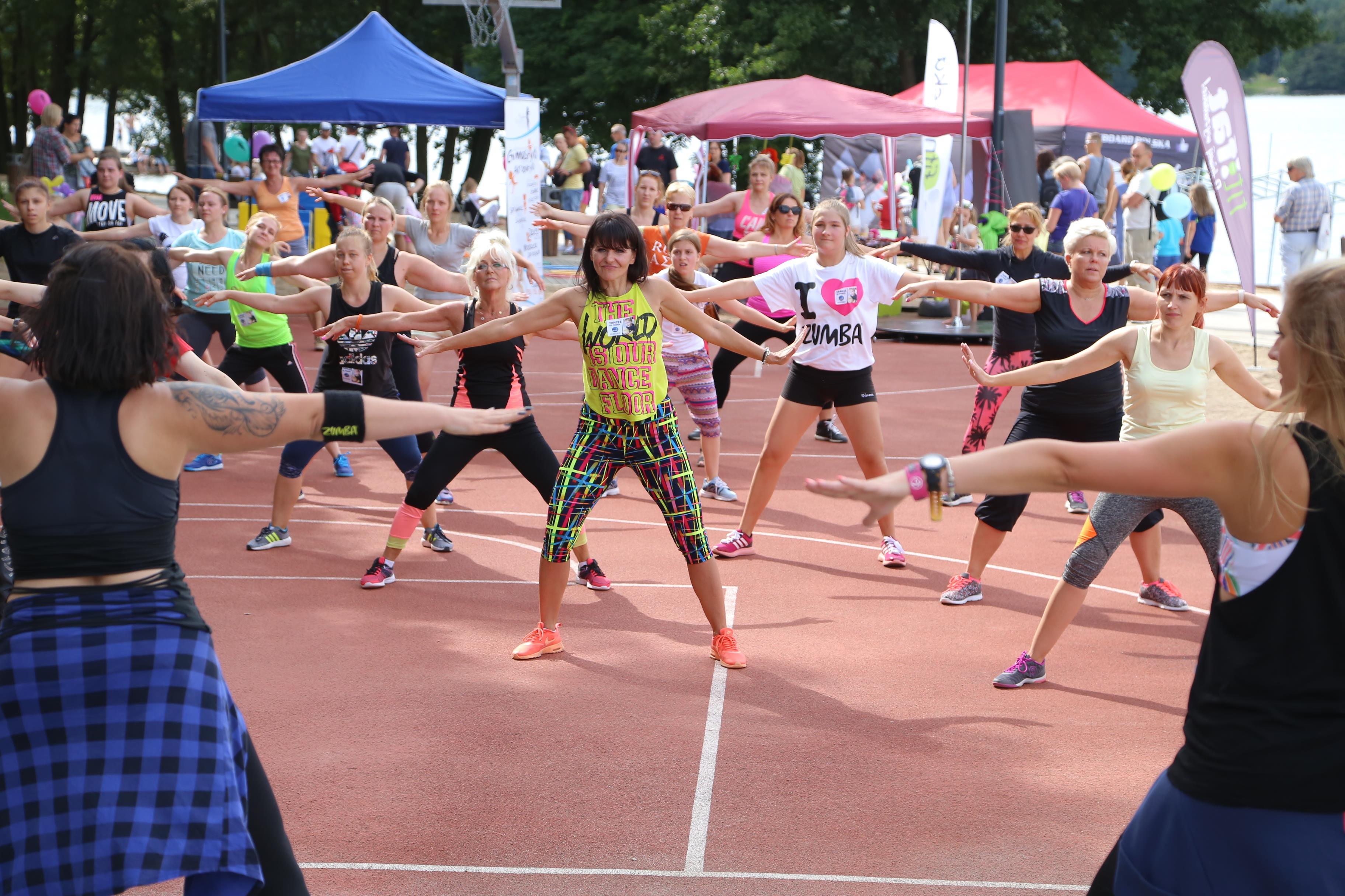 Maraton zumby na koniec wakacji