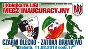 Inauguracyjny mecz Czarnych Olecko w IV lidze