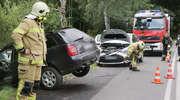 Brawura za kierownicą. Wypadek na ul. Bałtyckiej w Olsztynie [ZDJĘCIA]
