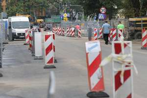Co się dzieje na przebudowywanych ulicach Olsztyna?