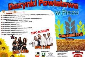 Skaner i Top Girls na Dożynkach Powiatowych w Piszu.