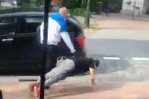 Zatrzymano mężczyznę, który zaatakował kelnerkę z restauracji w Krynicy Morskiej