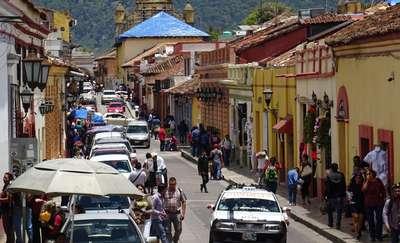 Podróżnik z Judzik odwiedził San Cristobal - miasto, w którym z bliska nie wolno fotografować jego mieszkańców