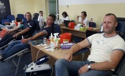 Iławscy policjanci zapraszają na akcję honorowego krwiodawstwa