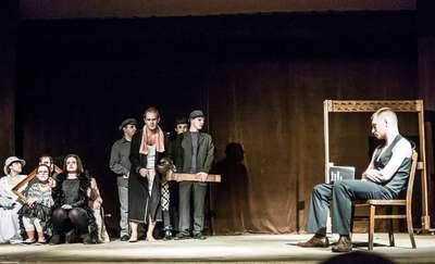 Teatr nocą w Kortowie