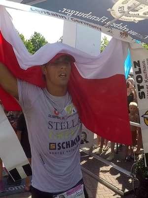 Robert Karaś mistrzem i rekordzistą świata w potrójnym Ironmanie!