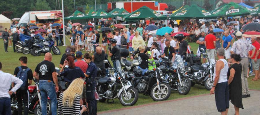 Na spotkaniu pojawiło się wielu motocyklistów