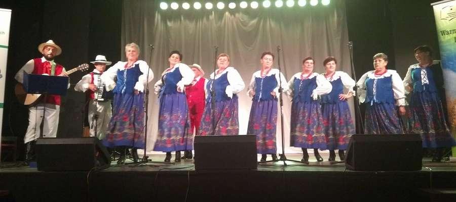 """""""Festiwal Kultur"""" był przeglądem, w formie konkursu,  zespołów ludowych z województwa warmińsko-mazurskiego"""